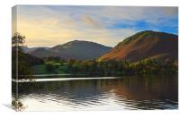 Ullswater in Early Morning, Canvas Print