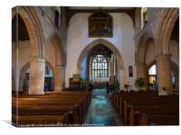 St Marys Church, Rye, Canvas Print