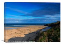 Riviere Sands, Hayle Estuary, Cornwall, Canvas Print