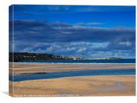 Hayle Estuary, Cornwall, Canvas Print