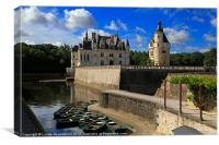 Chateau Chenonceau, Loire Valley, France, Canvas Print