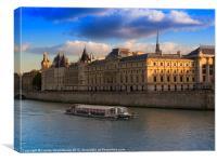 Conciergerie, Paris, Canvas Print