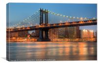 Manhattan Bridge I, Canvas Print