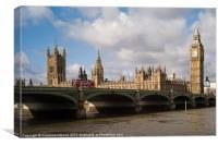 Big Ben and Parliament, Canvas Print