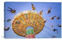 Ohio State Fair Wave Swinger VI, Canvas Print