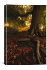 Autumn mood, Canvas Print