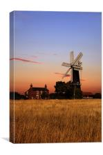Sibsey trader windmill, Canvas Print