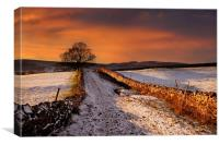 A dales way, Canvas Print