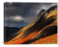 Pike O stickle, Canvas Print