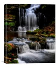 Scaleber force waterfalls , Canvas Print