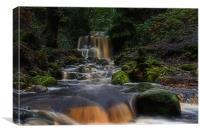 Rivington waterfall, Canvas Print