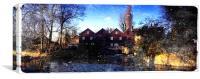 The Mill at Bawburgh, Canvas Print
