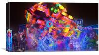 Scream Light wheel, Canvas Print