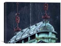 Bergen Rooftop, Canvas Print