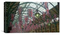 Covent Garden over the Jubilee, Canvas Print