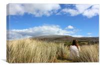 Burren View, Canvas Print