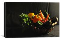 Vegetables of Life, Canvas Print