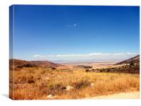 Granada horizon, Canvas Print
