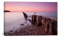 Bembridge Seafront, Canvas Print