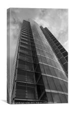 The Velocity Tower Sheffield, Canvas Print