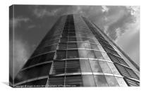 Velocity Tower, Canvas Print