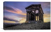 Penshaw Monument Sunset 2, Canvas Print