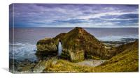 Flamborough Head, Canvas Print
