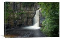 High Force Classic View, Canvas Print