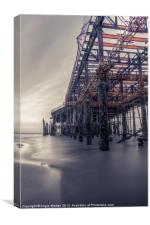 Rusted Pier, Canvas Print
