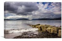 Rothesay Bay, Canvas Print
