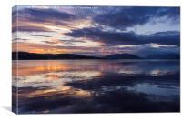 Rothesay Bay at Sunset, Canvas Print