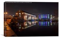 Sheffield Victoria Quays, Canvas Print