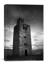 Boots Folly Tower, Canvas Print