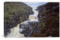 Cauldron Snout Waterfall, Canvas Print