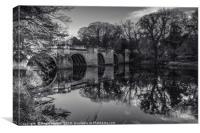 Sunderland Bridge Reflections, Canvas Print