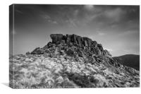 Crook Hill Summit, Canvas Print