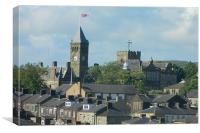 Iconic Colne Towers, Canvas Print