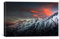 Fire and Ice, Canvas Print