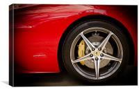 Ferrari 458 Front Wheel, Canvas Print