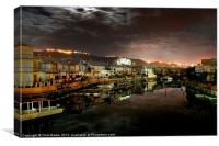 Knysna South Africa at Night, Canvas Print