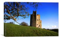 Orford Castle Suffolk, Canvas Print