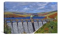 Autumn in the Elan Valley, Canvas Print
