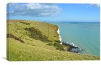 White Cliffs at Dover, Canvas Print
