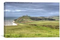 Belle Toute Lighthouse, Canvas Print