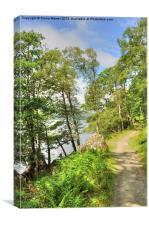 Loch Lomond Path, Canvas Print
