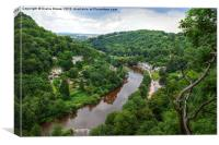Symonds Yat, Canvas Print