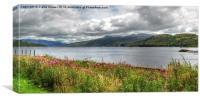 Loch Katrine, Canvas Print