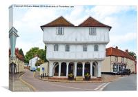 Thaxted Guildhall, Canvas Print
