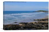 Fistral Beach, Canvas Print