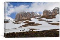 The Dolomites, Canvas Print